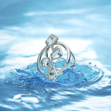 Diamond Lagoon Statement Ring