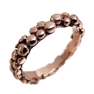 Rose Gold mini Bubble Ring