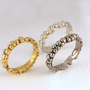 Palladium Mini Bubble Ring The Golds by Charlotte Cornellius