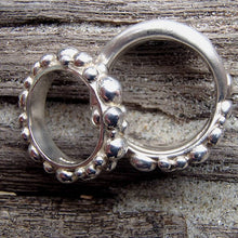 Load image into Gallery viewer, Medium Bubble Band Ring by Charlotte Cornelius