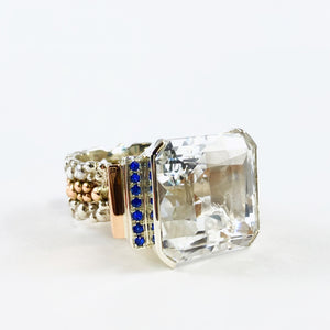 Art Deco Cocktail Ring