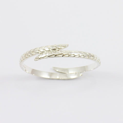 Overlapping Fern Bangle