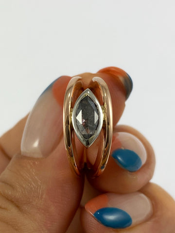 Diamond Split Band