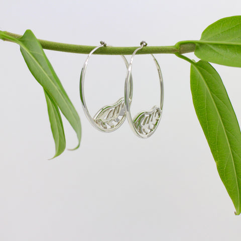 Unfurled Hoop Earrings