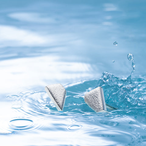 Diamond Lagoon Asymmetric Studs