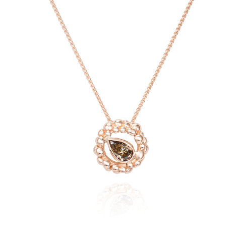 Champagne Diamond Necklace