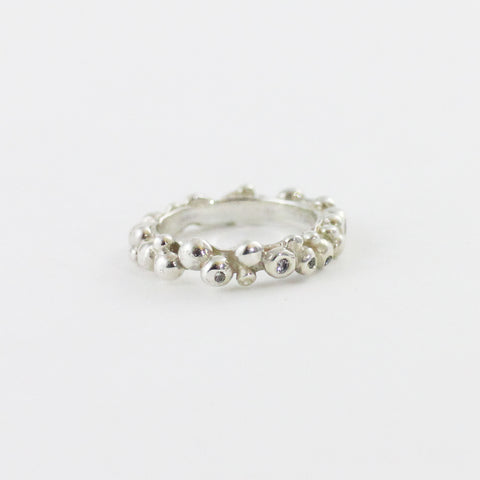 Diamond Mini Pebble Ring