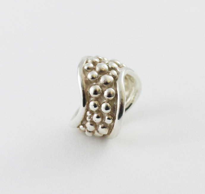 Chunky Sterling Silver Wave Ring