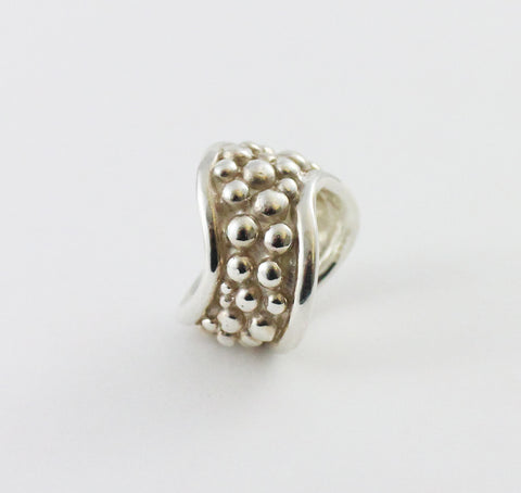 Chunky Bubble Wave Ring
