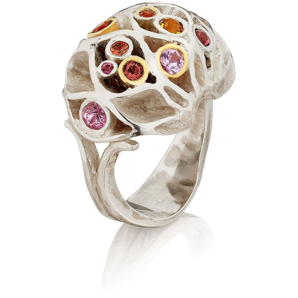 Royal Casbah bejewelled dome ring