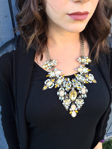 Tuscan Sun Statement Necklace