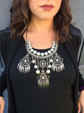 The MAGDA Statement Necklace