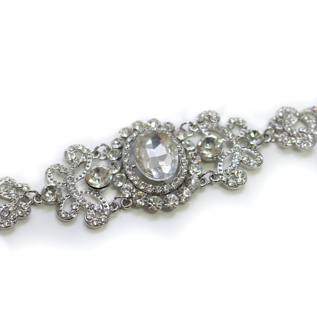 Royal Blush Crystal Bracelet