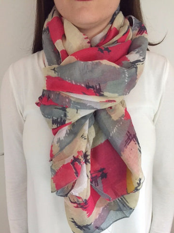 Spring BREEZE Scarf