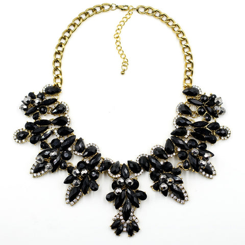 The Esmeralda Black Necklace