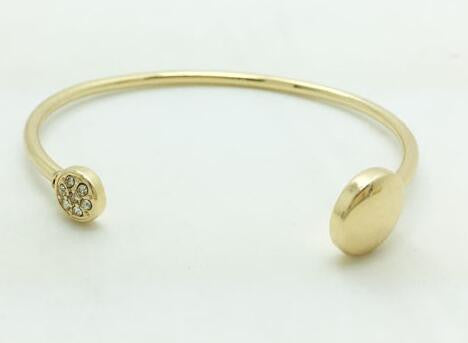 Gold Simple Bangle