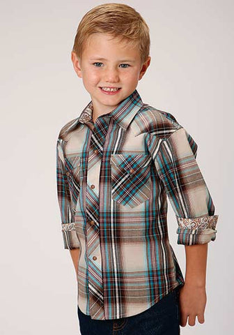 Roper Boys Plaid