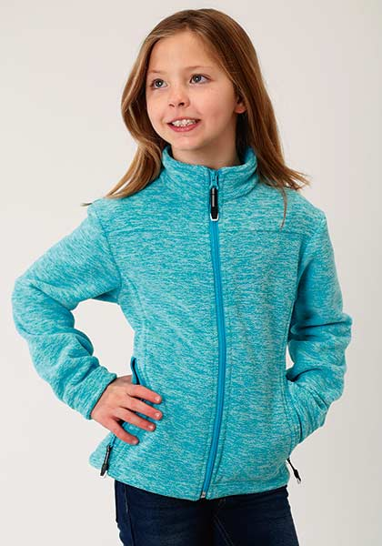 quality products get online look for Roper Girls Fleece Jacket - Bridle Path Tack Shop