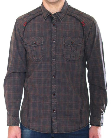 Austin Season Brown Plaid