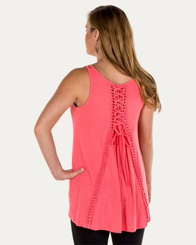 Madeline Lace Up Tank