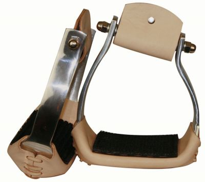 Angled Copper Stirrup