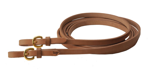 Harness Leather Reins w/Buckle