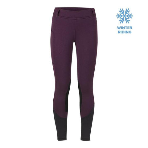 Kerrits Kids Windpro Knee Patch Boysenberry