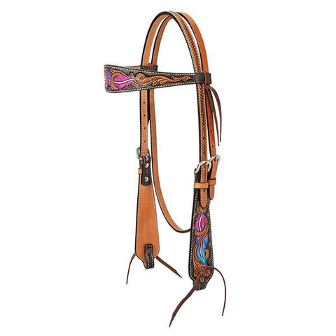 Twisted Feather Headstall