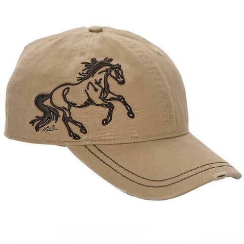 AWST Galloping Horse Tan Cap