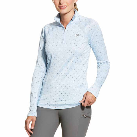 Ariat 1/4 Zip Sunstopper 2.0 Long Sleeve Shirt