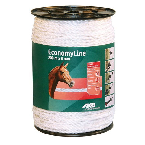 Electric Fencing Rope 200m