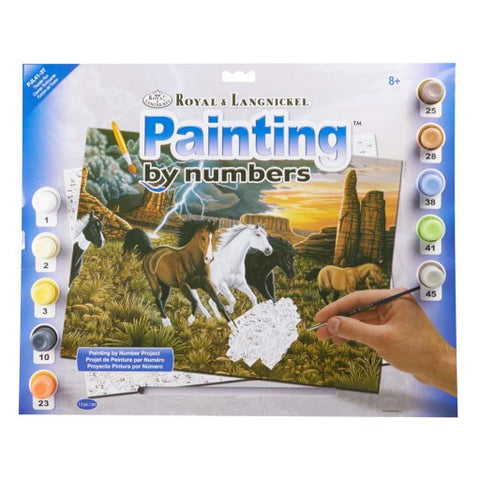 Paint By Number Thunder Run