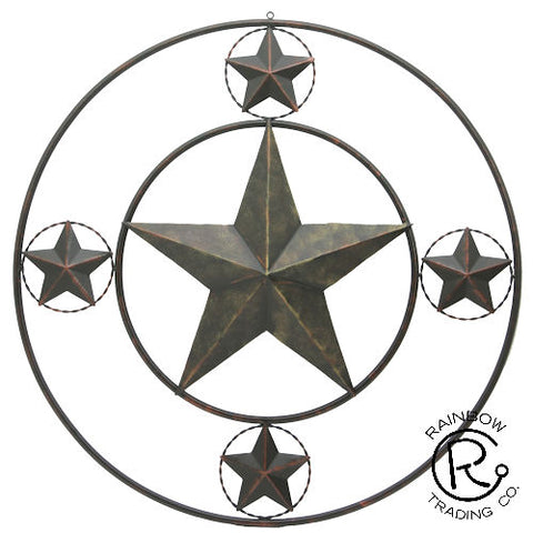 Double Ring Star Sign