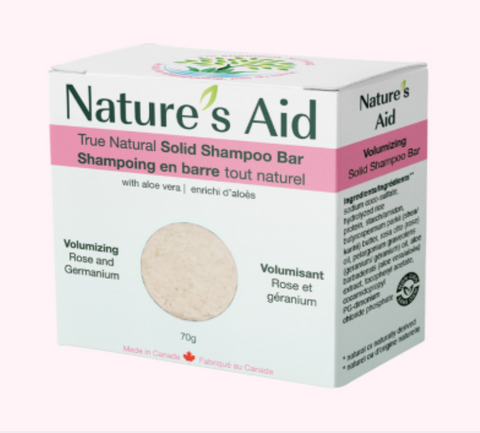 Nature's Aid Bar Shampoo