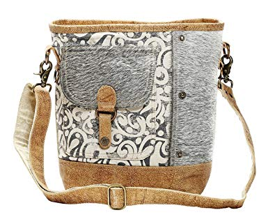 Myra Front Pocket Shoulder Bag