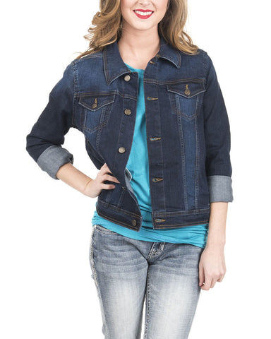 Wrangler Ladies Denim Jacket