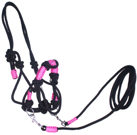 Bitless Rope Bridle Assorted
