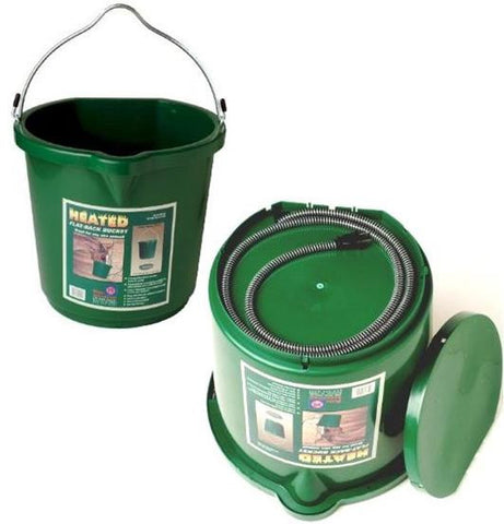 Green Heated Bucket 5GL
