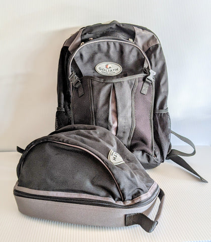 Helmet & Backpack Bag