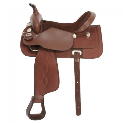 "Krypton Saddle 18"" Brown"