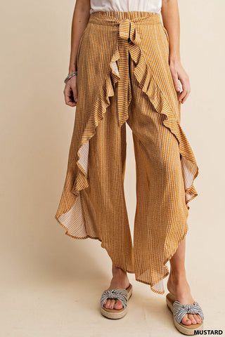 Kori Loop Stripe Tie Pants