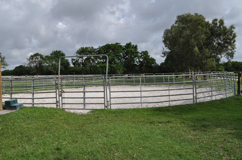 Galvanized Round Pen 60'