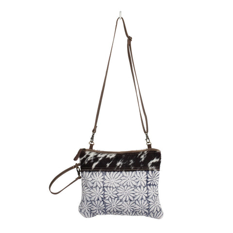 Myra Noir & Flower Purse