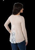 Noble Tory Lace Sweater