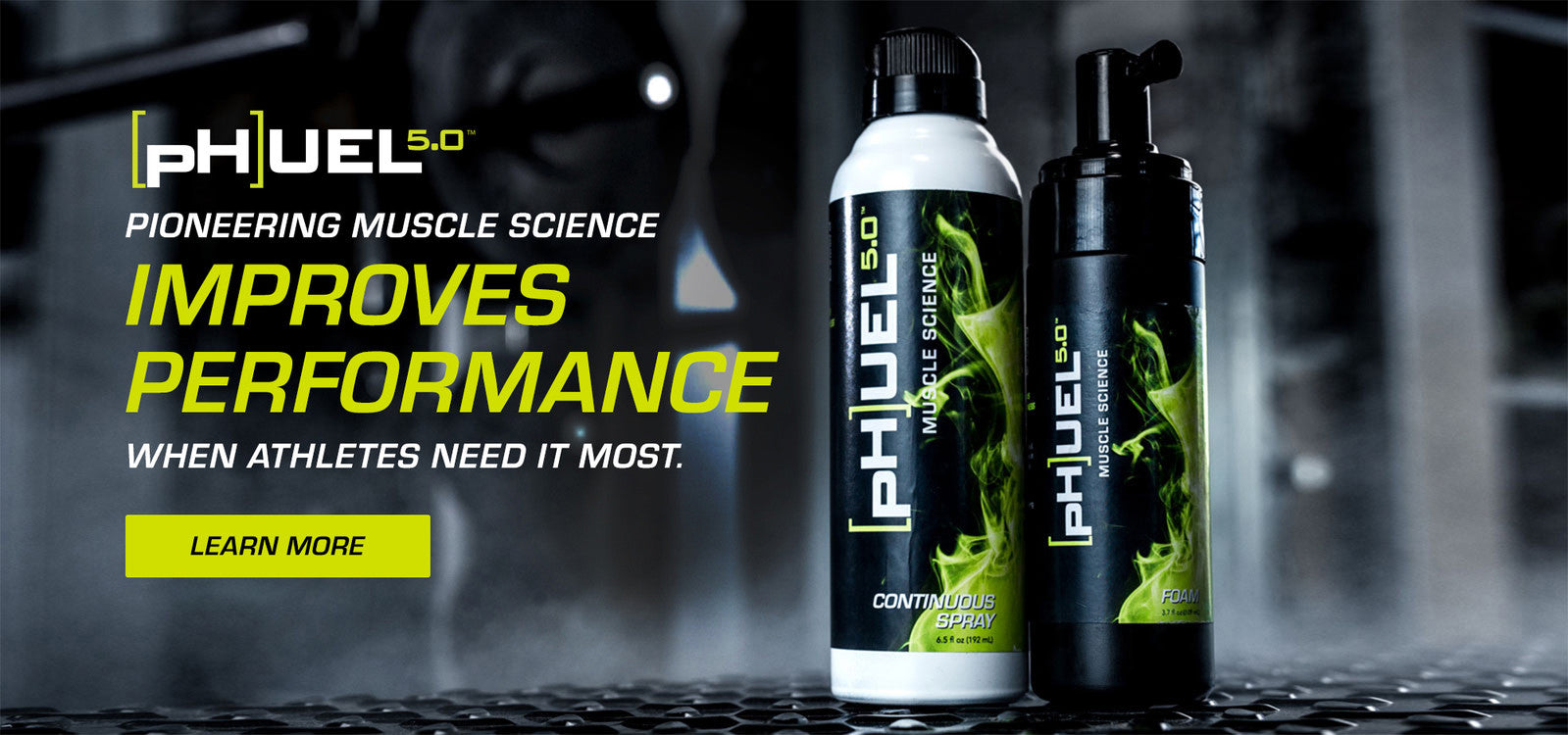 Phuel's pioneering muscle science improves performance when athletes need it most.