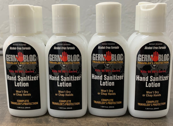 Hand Sanitizer- 8oz GermBloc WHOLESALE 3240 bottles