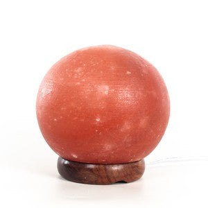 "Himalayan Salt Lamp 6"" Sphere"