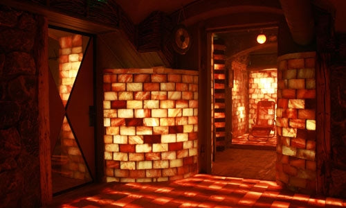 "Himalayan Salt Room 4' x  4' Surface Area - 16 Sq feet - 8""x8""x2"""