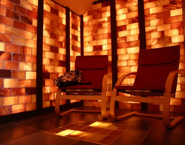 Himalayan Salt Sauna 8' x  4' Surface Area - 32 Sq feet