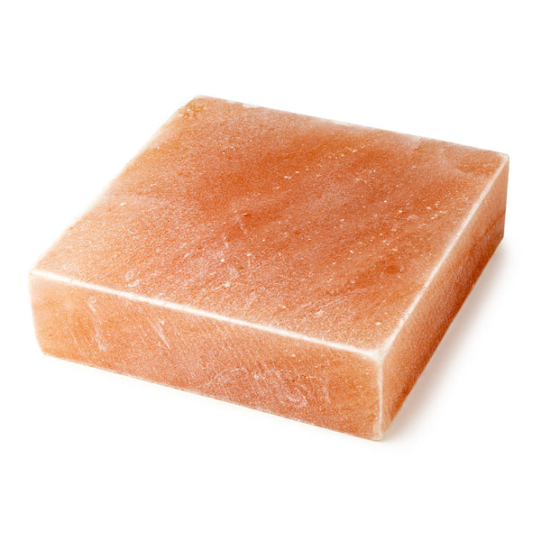 "HIMALAYAN SALT PLATE 8"" x 8"" x 2"" - Guaranteed Authentic - FDA APRROVED"